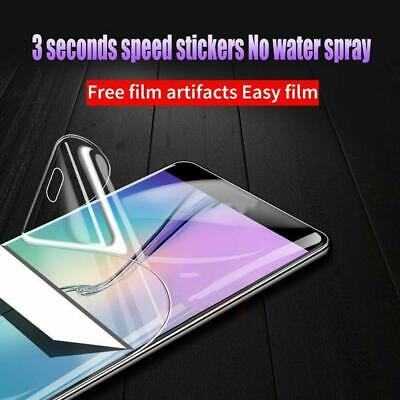 $ CDN2.64 • Buy Front Soft Clear Screen Protector Full Cover Soft Silicone For Samsung Gala