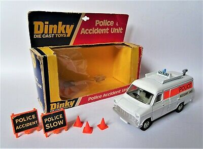 Vintage 1970's Dinky 272 Police Accident Unit In Original Box - Excellent Cond • 32£