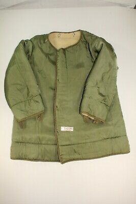 $64.99 • Buy U.s. Army M-1951 Cold Weather Fish Tail Parka Liner Unknown Date Size Medium