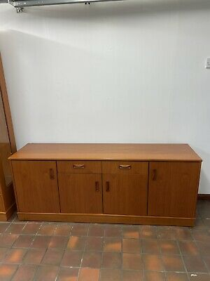 G Plan Sideboard With Cutlery Draw And 3 Cupboards • 0.99£