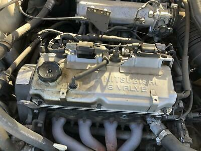 AU550 • Buy ENGINE, MOTOR MITSUBISHI LANCER 1.8, 4G93, 16v, CE, EFI, 2DR/SEDAN, COIL PACK TY