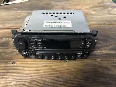 $55 • Buy 2002-2007 Chrysler Jeep Dodge Radio Stereo Unit AM FM CD Player. C5