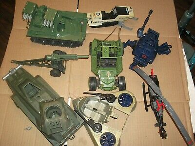 $ CDN41.43 • Buy 1980s-90  #409 Batch LOT Vintage 3 3/4  Gi Joe Vehicles & Parts