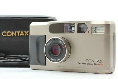 $ CDN1077.63 • Buy [Near Mint]Contax T2 D Data Back Titan Point & Shoot 35mm Film Camera From Japan