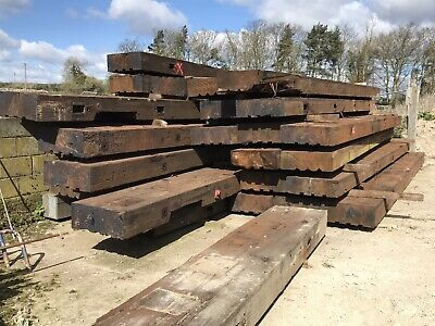 Large Timber Beams 21ft Long (30+ Available) • 120£