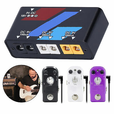 $ CDN41.31 • Buy Pedal Power Supply Electric Guitar Effect Board Short Circuit Protection100-240V