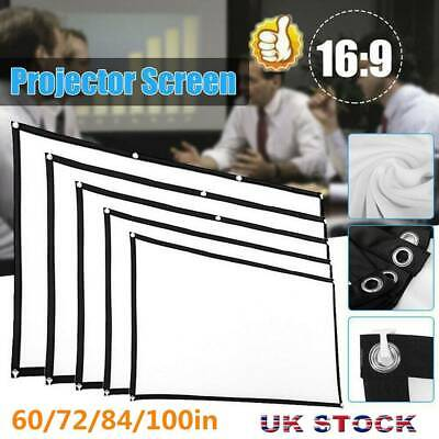 £6.29 • Buy Projector Projection Screen Film 16:9 Matte 3D HD Home Cinema Theater UK