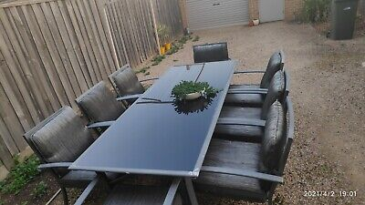 AU143 • Buy Outdoor Dining Setting, 8 Seater In GC