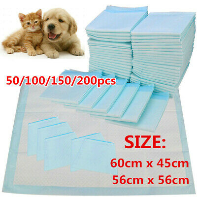 £12.39 • Buy HEAVY DUTY DOG PUPPY LARGE TRAINING WEE WEE PADS PAD FLOOR TOILET MATS 60 X 60cm
