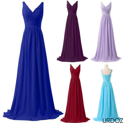 £13.99 • Buy Women Evening Formal Dress Party Bridesmaid Maxi Dresses Prom Cocktail Long Gown