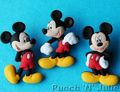 £4.25 • Buy MICKEY MOUSE Disney Craft Buttons Children Boy Animals Dress It Up