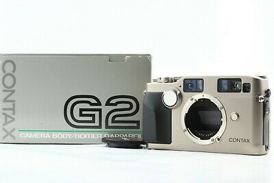 $ CDN2120.61 • Buy [Boxed Almost Unused] Contax G2 Rangefinder 35mm Film Camera Body Only JAPAN
