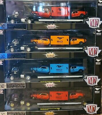 $375 • Buy M2 Chase Limited Edition Complete Set 1956 Auto-haulers 50 Years Mustang