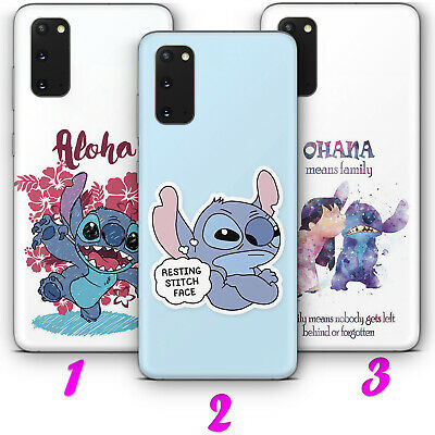 £8.30 • Buy LILO AND STITCH 1 STICH CARTOON OHANA Thin VARIOUS SAMSUNG Phone Case Cover