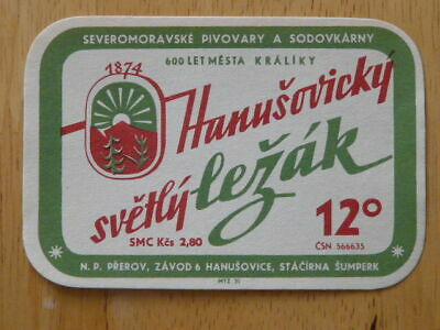 $3.19 • Buy (can - 032-007)  Old Czech Beer Label - Brewery Hanusovice
