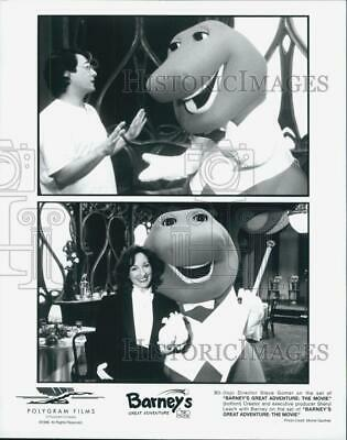 $ CDN24.25 • Buy 1998 Press Photo  Barney's Great Adventure  T Morgan, K Pratt,D Rice,