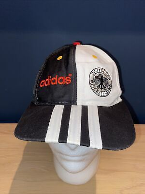 Adidas GERMANY CAP HAT CAP SNAPBACK VINTAGE Germany DFB Adult One Size 90s • 29.99£