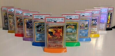 $5.99 • Buy PSA Card Stand - 3.5 X 2.5in Graded - Pokemon, Sports - 3D Print - Request Color