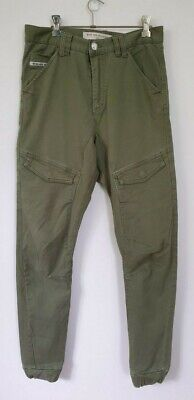 AU24.30 • Buy Nena & Pasadena Men's Green Jogger Jeans Size 30 In Excellent Preowned Condition
