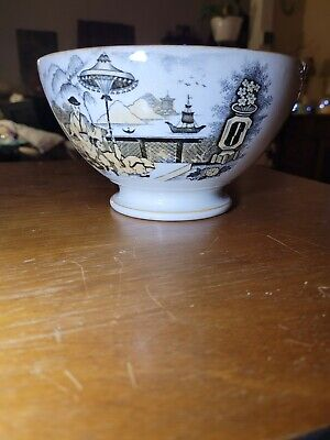 $35 • Buy Antique Maastricht Pajong Bowl - Petrus Regout & Co. Made In Holland