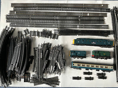 Hornby Locomotives  Spares Or Repair + Huge Lot Of Over 70 Hornby Tracks • 18.54£