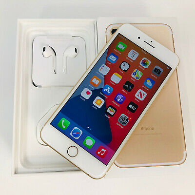 Apple IPhone 7 Plus VERY GOOD CONDITION!- 32GB - Gold (Unlocked)  FULL SET  • 75£