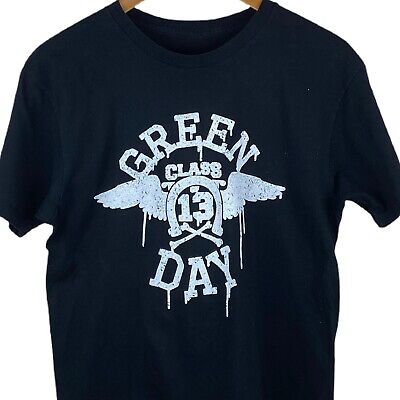 £11.99 • Buy Women's Green Day T-shirt S Small 2017 Tour Print Black And White Music Band