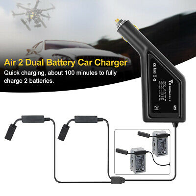 AU31.99 • Buy Car Charger Drone Accessories Dual Battery Travel For Mavic Air 2 Practical