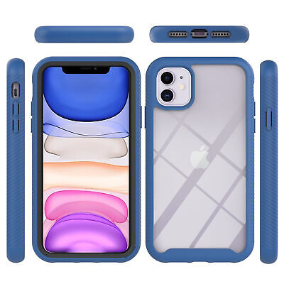 AU7.96 • Buy Blue 3in1 Protective Armor Cover Case For Iphone Samsung LG Moto Xiaomi OPPO