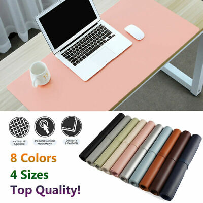 XXL Large Full Desk Mouse Mat Pad Leather Keyboard Laptop Computer Cushions Home • 7.49£