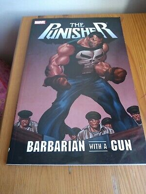 The Punisher: Barbarian With A Gun (Marvel Graphic Novel) • 2.50£