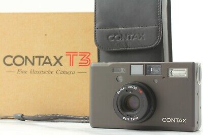 $ CDN3251.93 • Buy [TOP MINT BOX] Contax T3 D Black Point & Shoot 35mm Film Camera From JAPAN #1669