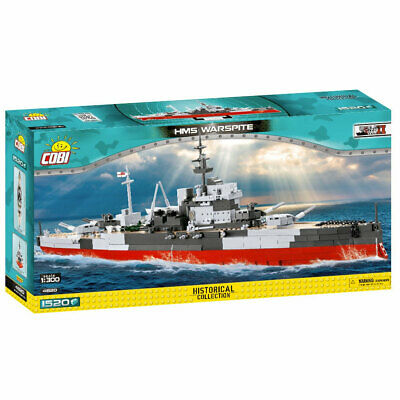 £89.95 • Buy Cobi 4820 Historical Collection HMS Warspite 1:300 Model Ship 1515pcs