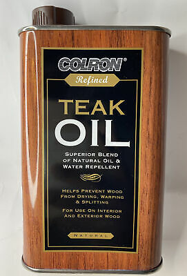 £11.85 • Buy COLRON Refined Teak Oil WITH Natural Colour For Interior & Exterior Wood