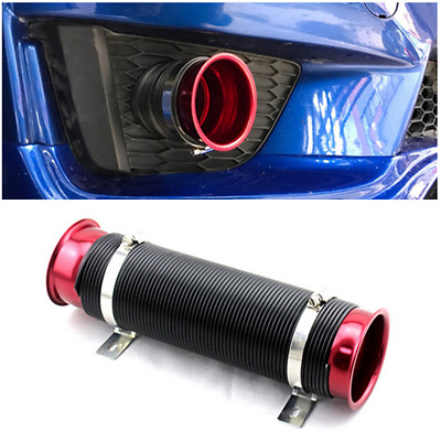 $38.27 • Buy 76mm/3in Car Cold Air Intake Hose Supply Duct Induction Hose Kit Aluminum/PVC