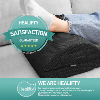 AU34.39 • Buy Sponge Footrest Pad Travel Pillow Cushion Office Home Foot Rest Relax Ergonomic