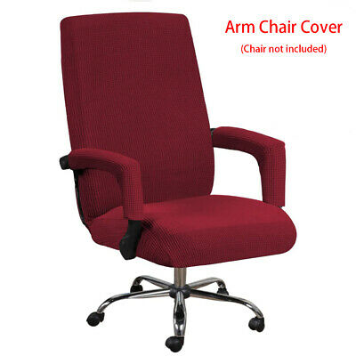 AU16.89 • Buy Dustproof Thickened Washable High Stretch Office Chair Cover With Armrest Sleeve