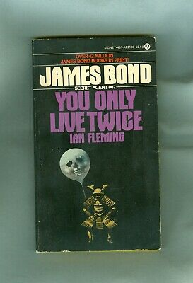 $4.25 • Buy Ian Fleming YOU ONLY LIVE TWICE Agent James Bond 007 MI6 JAPAN Sean Connery FILM