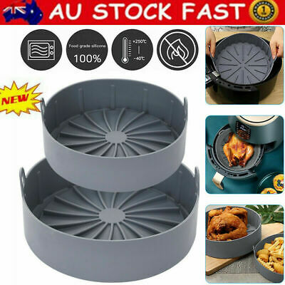 AU24.99 • Buy Multifunctional Air Fryer Silicone Pot Air Fryers Oven Accessories Baking Tray