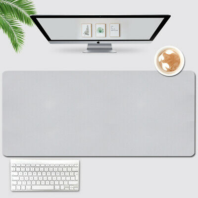 £12.99 • Buy PU Leather Office Desk Protector Mat Non Slip Mouse Laptop Pad Large Writing Mat