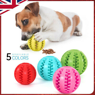 £3.99 • Buy Pet Puzzle Toy Food Dispenser Tough-Treat Ball Dog Interactive Puppy Play Toy &