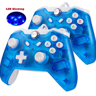 AU37.04 • Buy LED Wired Xbox One Game Remote Controller USB Gamepad For Xbox One S/ One X PC