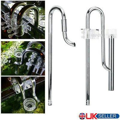 £30.90 • Buy Lily Pipe Stainless Steel Surface Skimmer Inflow Outflow Filter Tube Set UK