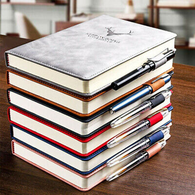£7.45 • Buy 360 Pages A5 PU Leather Cover Traveler Journal Notebook Lined Paper Diary Gift