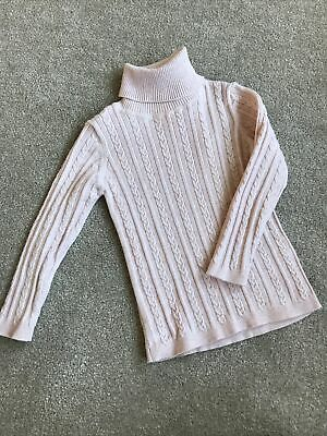 £2.50 • Buy Next Baby Girls Pink Ribbed Polo Neck Size 18-24 Months