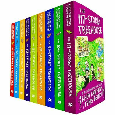 £19.99 • Buy Treehouse 9 Books Children Collection Pack Paperback Set By Andy Griffiths