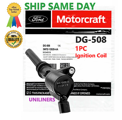 $22.99 • Buy 1 X FORD MOTORCRAFT DG-508 Ignition Coil - SAME DAY SHIPPING 3W7Z-12029-AA