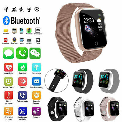 AU24.19 • Buy Waterproof Smart Watch Heart Rate Monitor Fitness Tracker For Android IPhonee