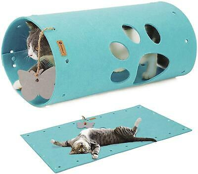 Cat Tunnel Mat, Comfy Soft Felt Material, Safe With NO Sharp Wires, Extendable • 15.25£