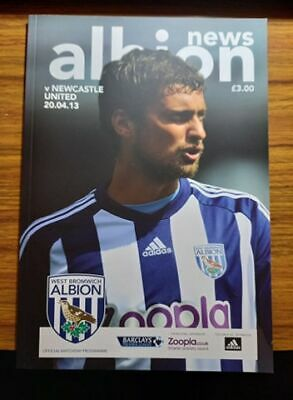 £1.49 • Buy West Brom Home Programmes 2012-13 *choose From List*
